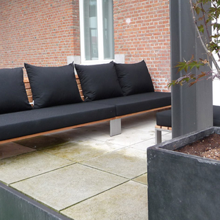 Terrasmeubel, lounge, Sittingimage