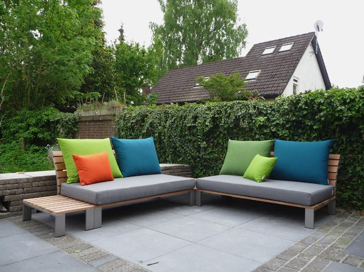 Tuinmeubilair op locatie sittingimage eigentijdse buitenmeubelen - Eigentijdse design lounge ...