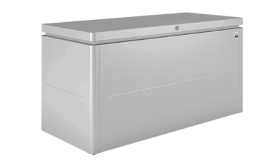 Biohort LoungeBox 200 zilvergrijs metallic - afb. 1