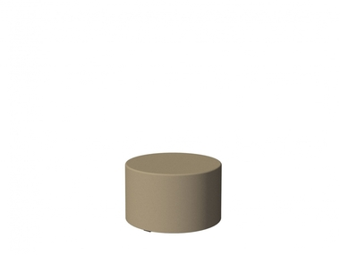 Sittingimage Pouf 60 Solids SI Solids Taupe - afb. 1
