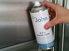 Sir John RVS Glans Clean